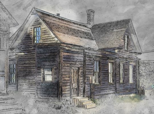 Building Old Bodie House Wooden  - ArtTower / Pixabay